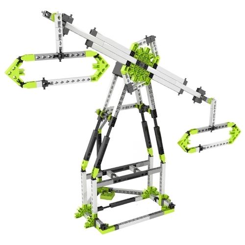 Электромеханический конструктор ENGINO Discovering STEM 56 Парк развлечений: Лондонский глаз и Карусель