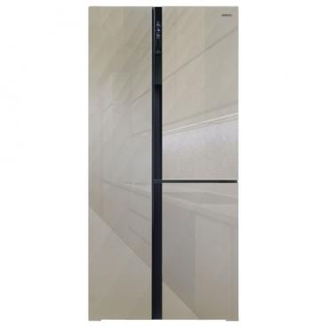 Холодильник Ginzzu NFK-610 Gold glass