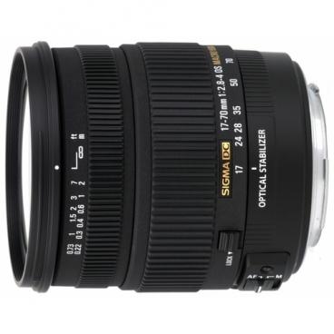 Объектив Sigma AF 17-70mm f/2.8-4 DC MACRO OS HSM Canon EF-S