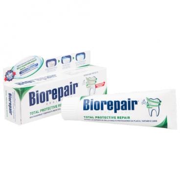 Зубная паста Biorepair Total Protection Repair, для комплексной защиты зубов и десен