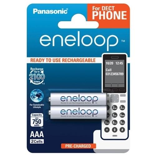 Аккумулятор Ni-Mh 750 мА·ч Panasonic eneloop DECT AAA
