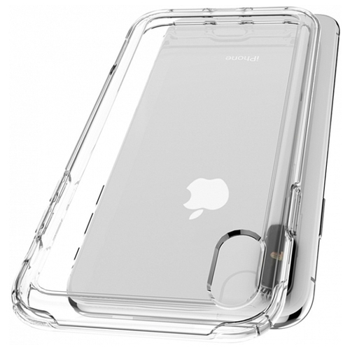 Чехол Spigen Crystal Hybrid (063CS2514) для Apple iPhone X/Xs