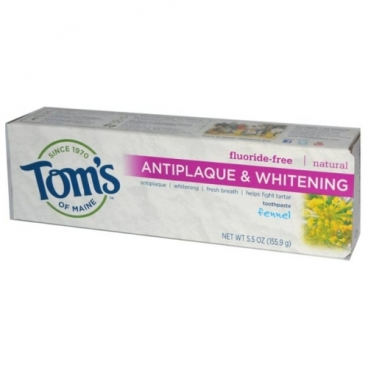 Зубная паста Tom's of Maine Antiplaque & Whitening Фенхель