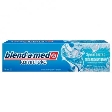 Зубная паста Blend-a-med Комплекс с ополаскивателем Освежающая чистота, перечная мята