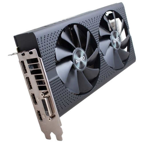 Видеокарта Sapphire Nitro OC Radeon RX 470 1140Mhz PCI-E 3.0 4096Mb 7000Mhz 256 bit DVI 2xHDMI HDCP (11256-10)