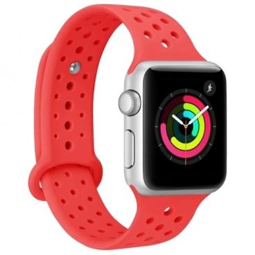 LDH Ремешок силиконовый с перфорацией для Apple Watch 42mm/44mm