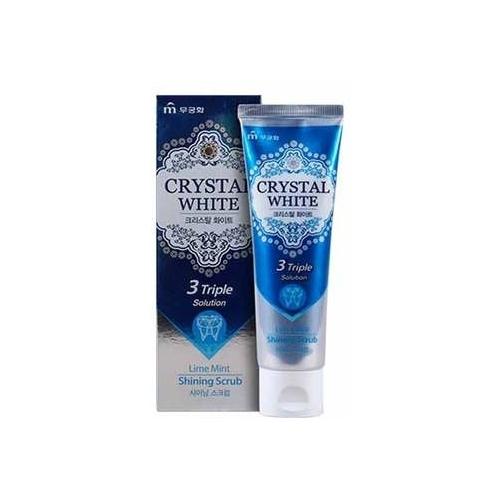 Зубная паста Mukunghwa Crystal White, мята и лайм