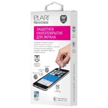Жидкое покрытие Elari Nanoglass для экранов любых форм и размеров (для 3 смартфонов)