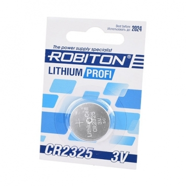 Батарейка ROBITON Lithium Profi CR2325