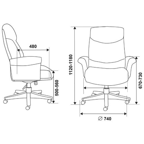 Компьютерное кресло Бюрократ _Inspector