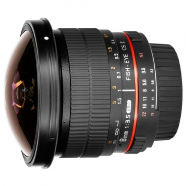 Объектив Samyang 8mm f/3.5 UMC Fish-eye CS II 4/3""