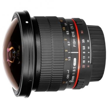 "Объектив Samyang 8mm f/3.5 UMC Fish-eye CS II 4/3"""