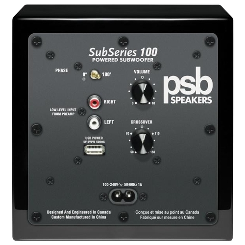 Сабвуфер PSB SubSeries 100