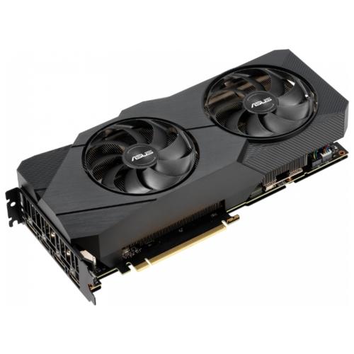 Видеокарта ASUS DUAL GeForce RTX 2080 SUPER 1650MHz PCI-E 3.0 8192MB 15500MHz 256 bit 3xDisplayPort HDMI HDCP EVO OC