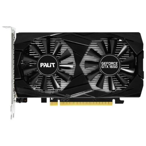 Видеокарта Palit GeForce GTX 1650 1485MHz PCI-E 3.0 4096MB 8000MHz 128 bit HDMI 2xDisplayPort HDCP Dual
