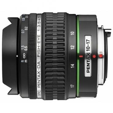 "Объектив Pentax SMC DA 10-17mm f/3.5-4.5 ED (IF) Fish Eye"""