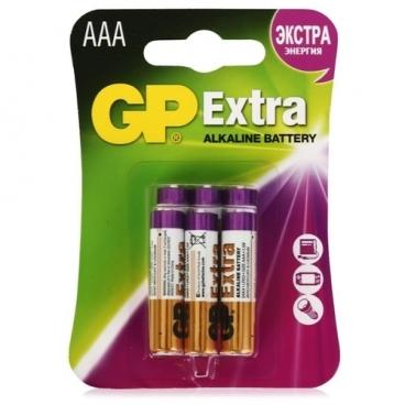 Батарейка GP Extra Alkaline AАA
