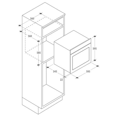 Электрический духовой шкаф Candy FPE 609/6 NXL