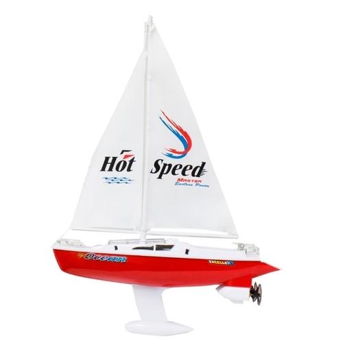 Яхта 1 TOY с парусом (Т58530) 1:16 38 см