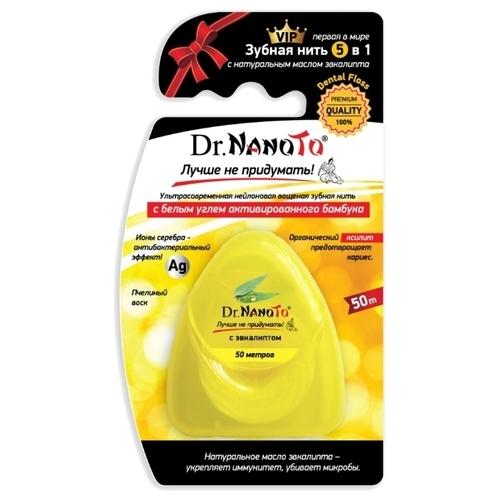 Dr. Nanoto зубная нить 5 в 1 натуральным маслом эвкалипта