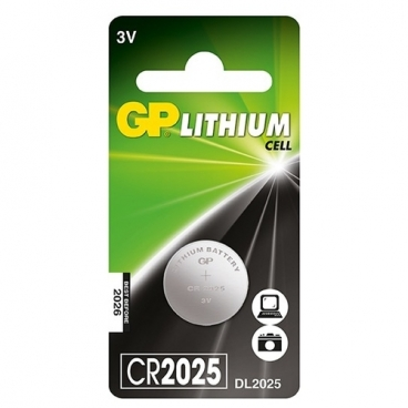 Батарейка GP Lithium Cell CR2025