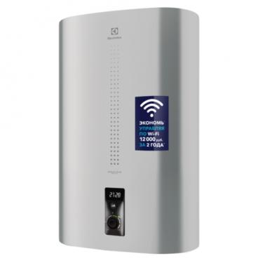 Накопительный электрический водонагреватель Electrolux EWH 80 Centurio IQ 2.0 Silver