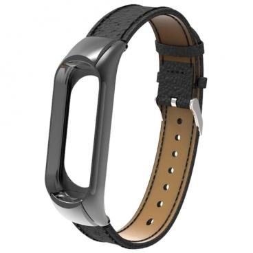 Apres Ремешок Leather Strap для Xiaomi Mi Band 3