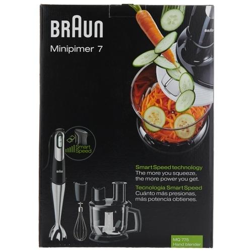 Погружной блендер Braun MQ 775 Patisserie