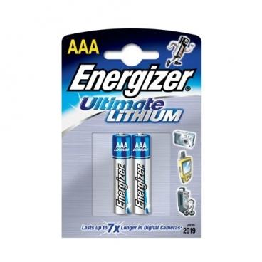 Батарейка Energizer Ultimate Lithium AAA