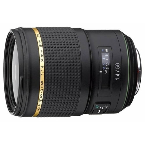 Объектив Pentax D FA 50mm f/1.4 SDM AW HD