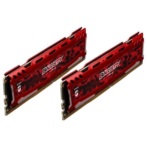 Оперативная память 16 ГБ 2 шт. Ballistix BLS2K16G4D26BFSE