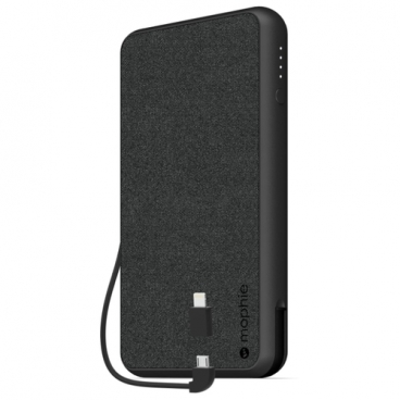 Аккумулятор Mophie Powerstation plus XL (Fabric) 10000 mAh