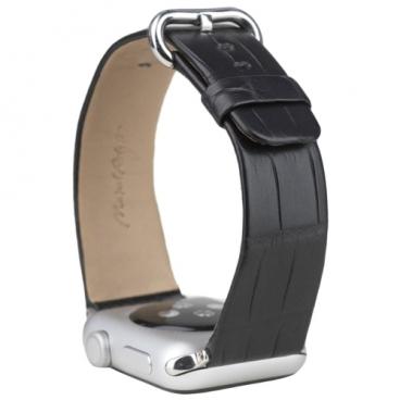 Marcel Robert Ремешок для Apple Watch 42/44mm ST Classic из натуральной кожи крокодила