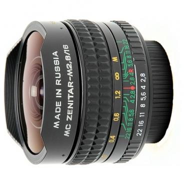 """Объектив Зенит Зенитар-N 16mm f/2.8"""""""