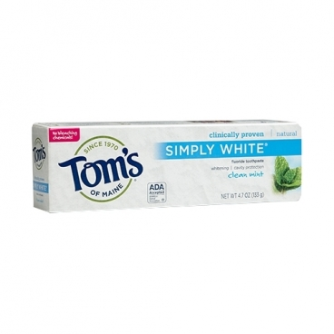 Зубная паста Tom's of Maine Simply White Чистая мята