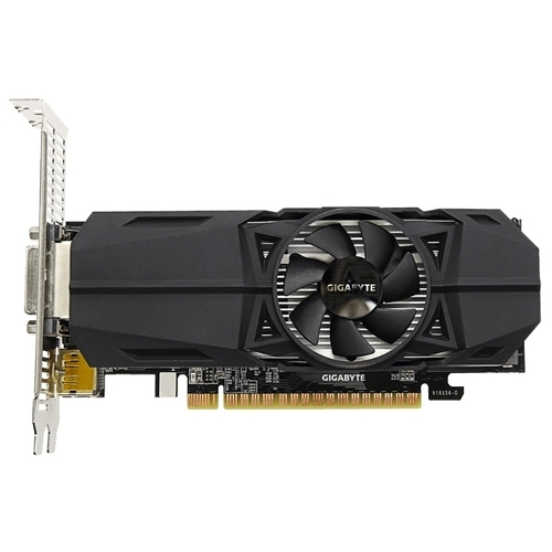 Видеокарта GIGABYTE GeForce GTX 1050 Ti 1328MHz PCI-E 3.0 4096MB 7008MHz 128 bit DVI DisplayPort 2xHDMI HDCP OC Low Profile
