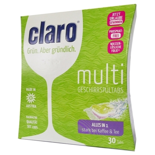 Claro Eco Multi All in One для посудомоечной машины