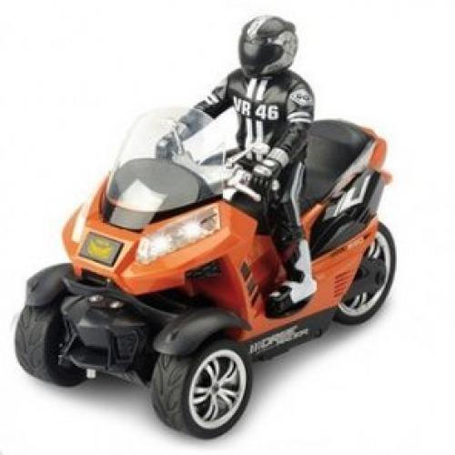 Мотоцикл Yuan Di 898-T55 1:10