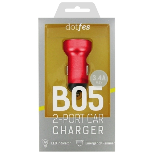 Автомобильная зарядка Dotfes B05
