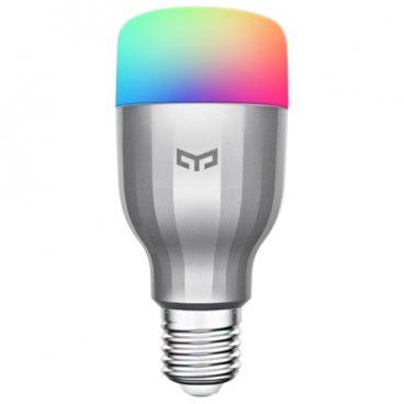 Лампа светодиодная Yeelight LED Bulb Color Silver YLDP02YL (GPX4002RT), E27, 9Вт