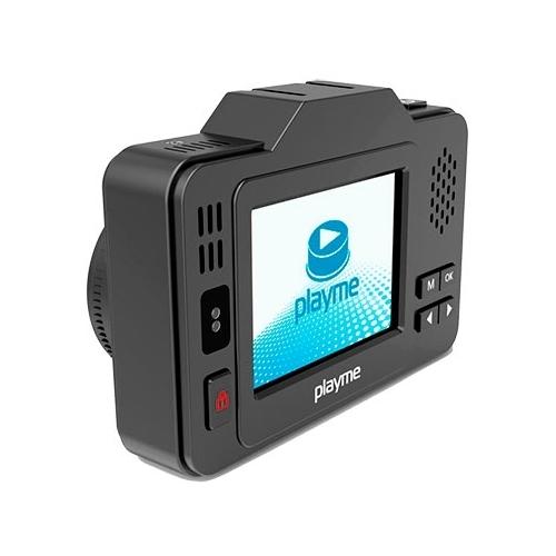 Видеорегистратор с радар-детектором Playme P550 TETRA