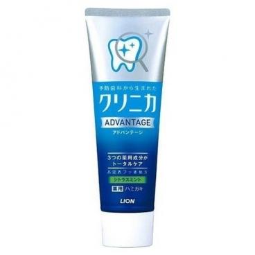 Зубная паста Lion Clinica Advantage Цитрусовые и мята