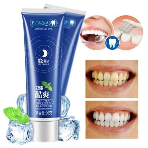 Зубная паста BioAqua с ионами серебра и экстрактом мяты