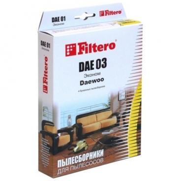 Filtero Мешки-пылесборники DAE 03 Эконом