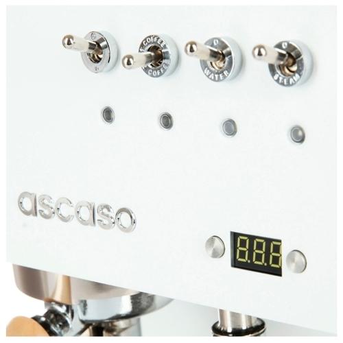 Кофеварка рожковая Ascaso Steel DUO PID