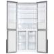 Холодильник Ginzzu NFK-510 Black glass