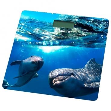 Весы Sakura SA-5065DL дельфины