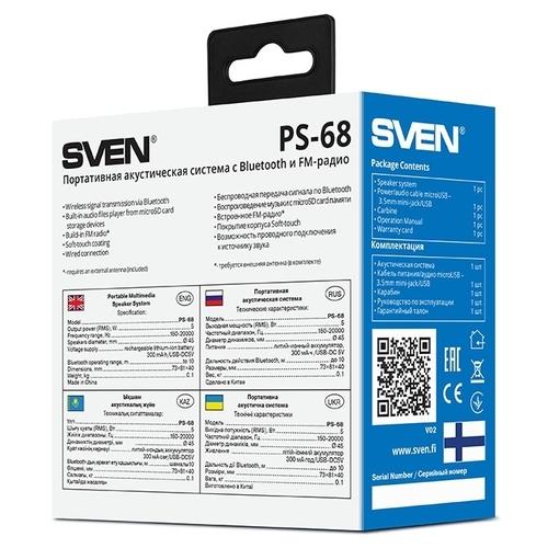 Портативная акустика SVEN PS-68