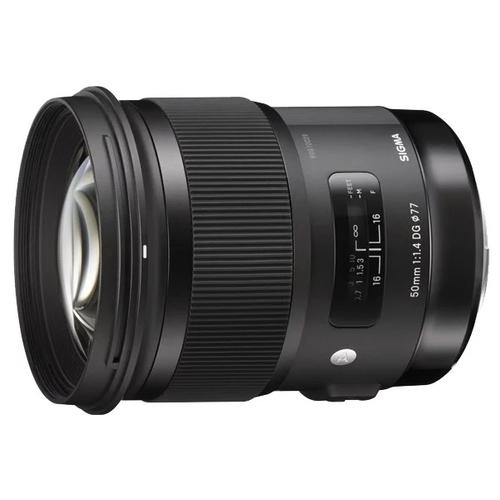 Объектив Sigma AF 50mm f/1.4 DG HSM Art Sony E