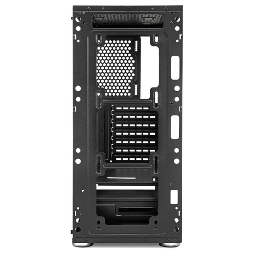 Компьютерный корпус CROWN MICRO CM-GS10B w/o PSU Black